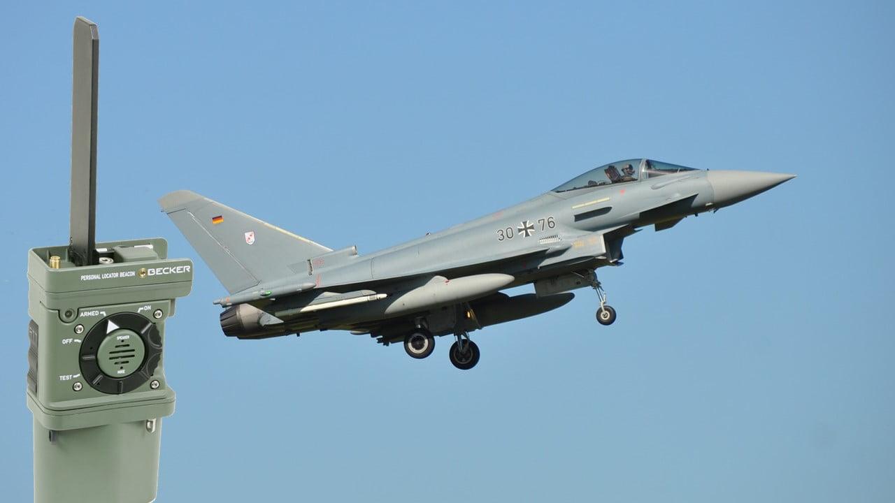 Bundeswehr Eurofighter MR510 Becker Avionics
